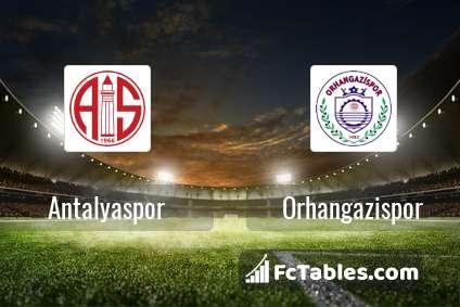 Antalyaspor Orhangazispor H2H