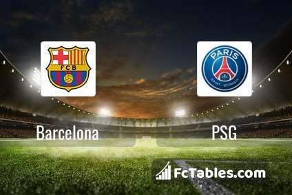 Preview image Barcelona - PSG