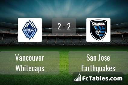 Preview image Vancouver Whitecaps - San Jose Earthquakes