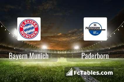 Preview image Bayern Munich - Paderborn