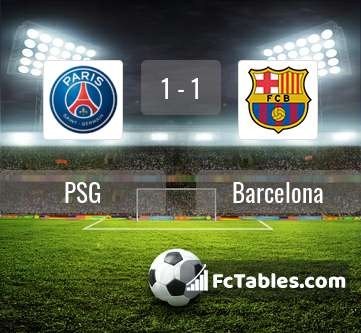 Preview image PSG - Barcelona
