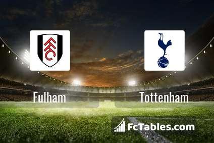 Preview image Fulham - Tottenham
