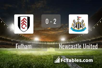 Preview image Fulham - Newcastle United