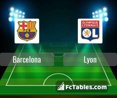 Preview image Barcelona - Lyon