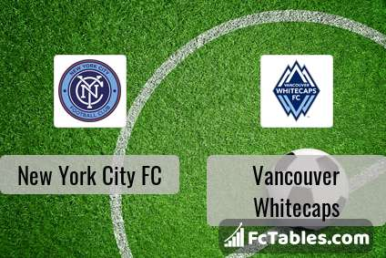 Preview image New York City FC - Vancouver Whitecaps