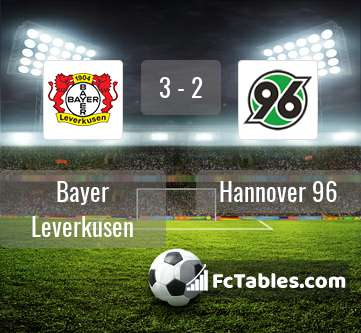 Preview image Bayer Leverkusen - Hannover 96