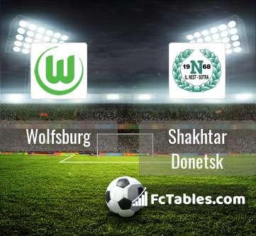 Preview image Wolfsburg - Shakhtar Donetsk