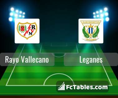 Preview image Rayo Vallecano - Leganes