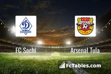 Preview image FC Sochi - Arsenal Tula