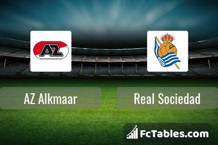 AZ Alkmaar vs Real Sociedad H2H 31 jul 2021 Head to Head stats prediction