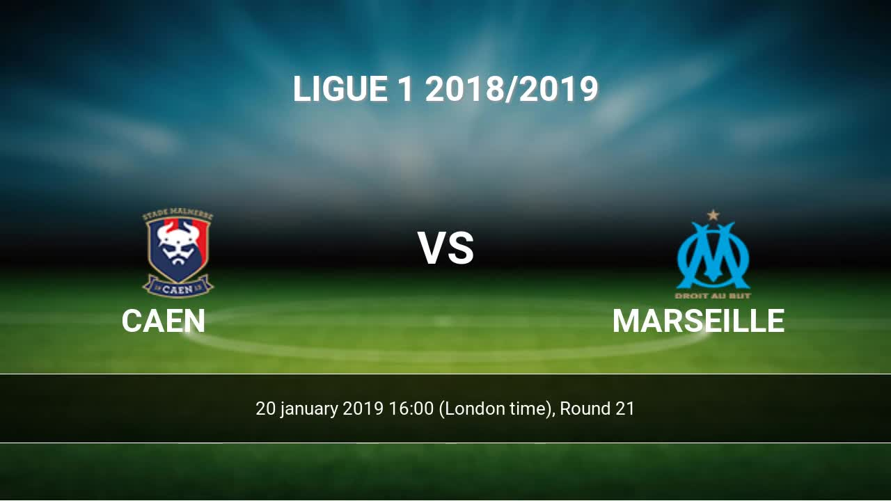 Caen marseille betting advice lions bears line betting sports