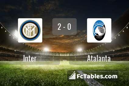 Preview image Inter - Atalanta