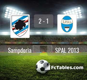 Preview image Sampdoria - SPAL