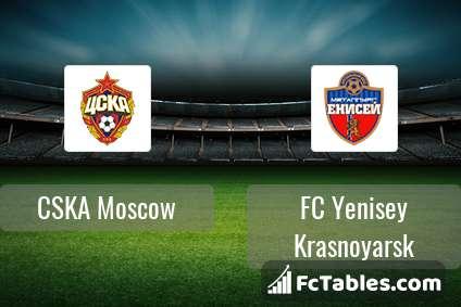 Preview image CSKA Moscow - FC Yenisey Krasnoyarsk