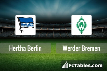 Preview image Hertha Berlin - Werder Bremen