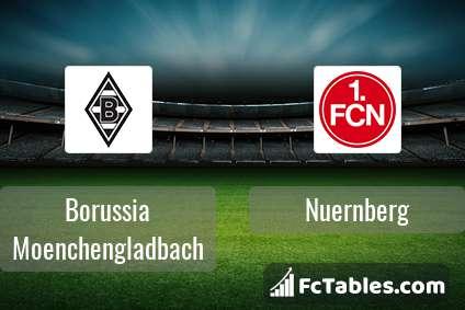Preview image Borussia Moenchengladbach - Nuernberg