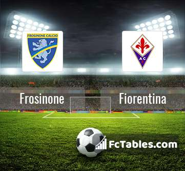 Preview image Frosinone - Fiorentina