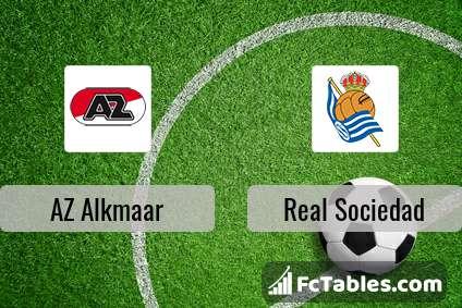 Preview image AZ Alkmaar - Real Sociedad