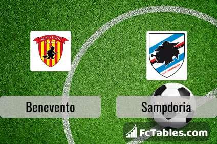 Preview image Benevento - Sampdoria