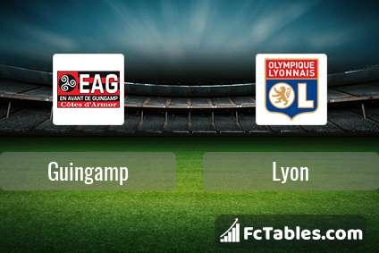 Preview image Guingamp - Lyon