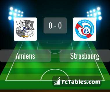 Preview image Amiens - Strasbourg