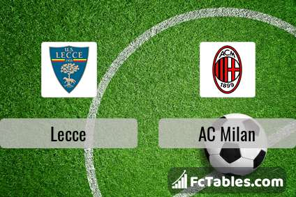 Preview image Lecce - AC Milan