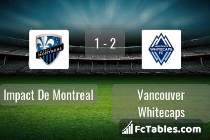 Preview image Impact De Montreal - Vancouver Whitecaps