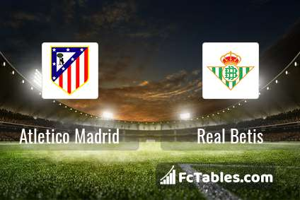 Preview image Atletico Madrid - Real Betis