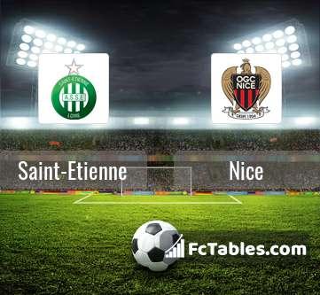 Preview image Saint-Etienne - Nice