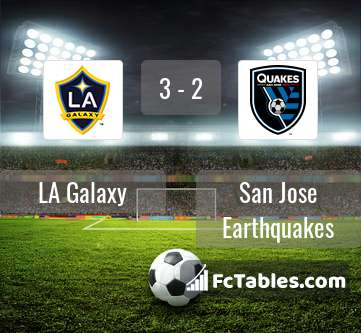 Preview image LA Galaxy - San Jose Earthquakes