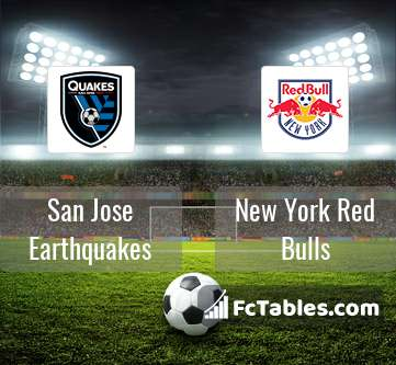 Preview image San Jose Earthquakes - New York Red Bulls