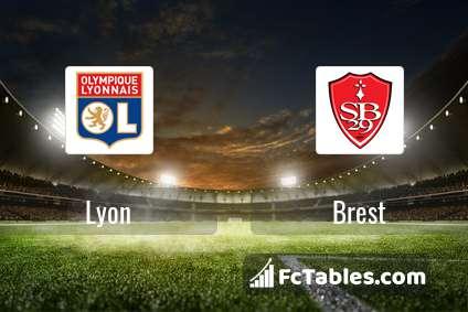 Preview image Lyon - Brest
