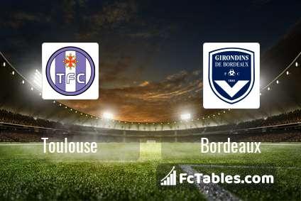 Toulouse Bordeaux H2H