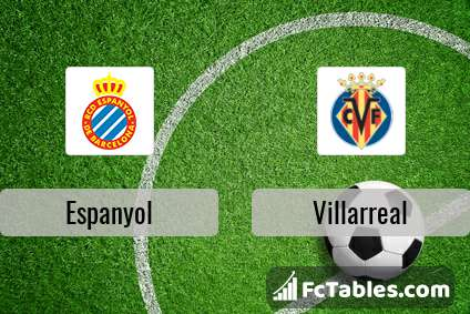 Espanyol vs villarreal h2h 18 feb 2018 head to head stats predictions - Villarreal fc league table ...