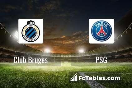 Preview image Club Bruges - PSG