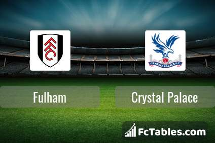 Preview image Fulham - Crystal Palace
