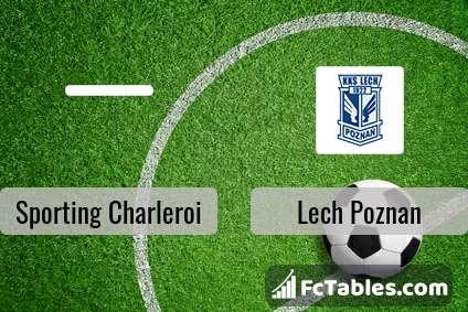 Preview image Sporting Charleroi - Lech Poznan