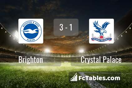 Preview image Brighton - Crystal Palace