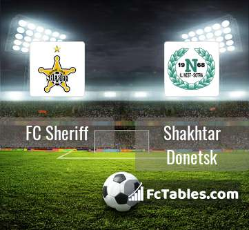 Preview image FC Sheriff - Shakhtar Donetsk