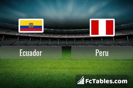 Ecuador Peru H2H