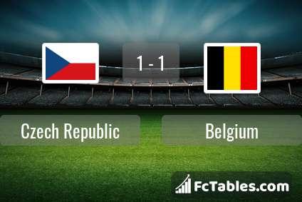 Preview image Czech Republic - Belgium