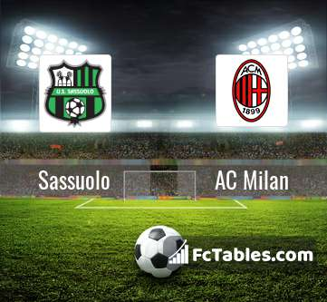 Preview image Sassuolo - AC Milan