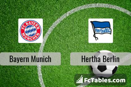 Preview image Bayern Munich - Hertha Berlin