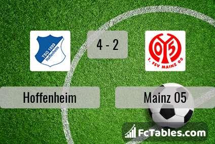 Podgląd zdjęcia Hoffenheim - FSV Mainz 05