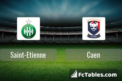 Preview image Saint-Etienne - Caen