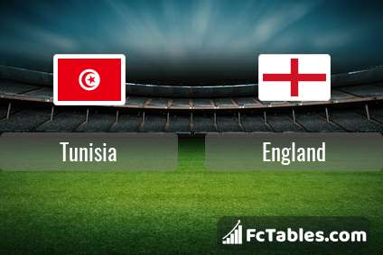 Preview image Tunisia - England