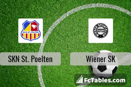 Skn St Poelten Vs Wiener Sk H2h 2 Jul 2017 Head To Head Stats