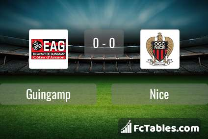 Preview image Guingamp - Nice