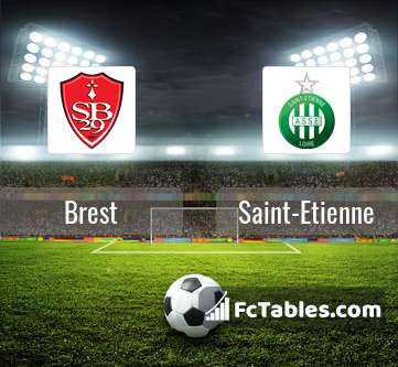 Preview image Brest - Saint-Etienne