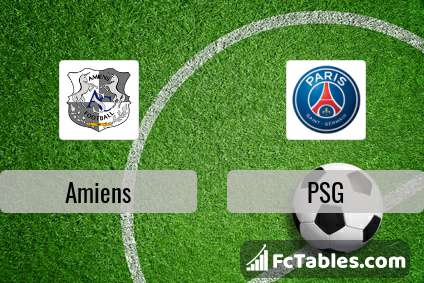 Preview image Amiens - PSG